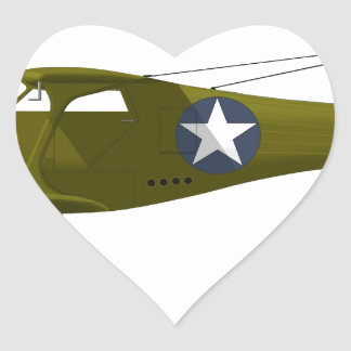 Viajero de la haya C-43 Pegatina En Forma De Corazón