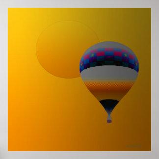 Viajero de la sol poster