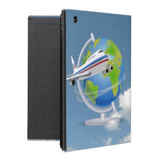 Viajero de mundo iPad cárcasa