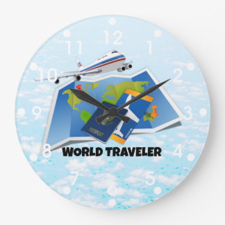 Viajero de mundo relojes
