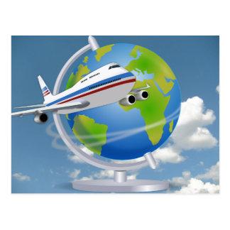 Viajero de mundo postal