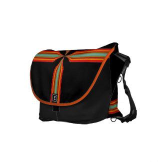 viajero del día laborable, attaché de noche, o bol bolsa de mensajeria