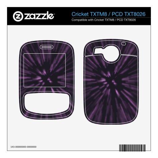 viajero del espacio cricket TXTM8 calcomanía