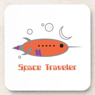 Viajero del espacio posavaso