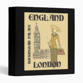 "Viajero Inglaterra Londres Buckingham Big Ben del Carpeta 1"""