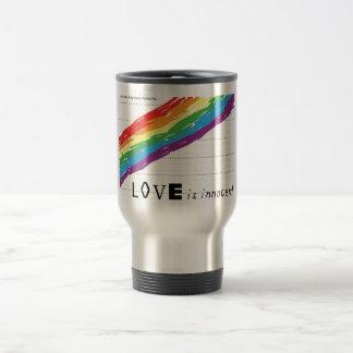 Viajero inoxidable inocente tazas de café