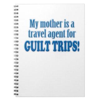 Viajes de culpabilidad libretas