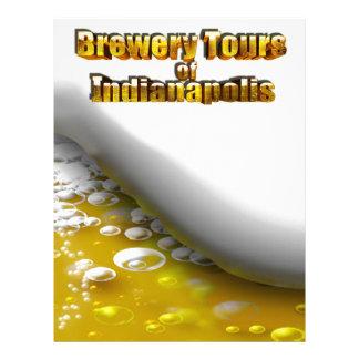 Viajes de la cervecería de Indianapolis Membretes Personalizados