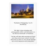 Viajes de la fotografía de Rochester Tarjetón