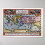 Viajes de San Pablo Ortelius Abraham 1598 Impresiones