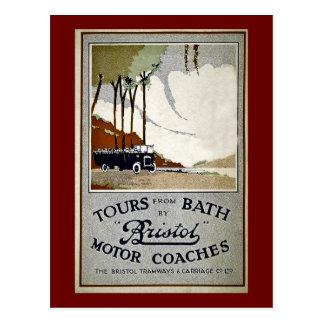 Viajes del baño por Bristol Postales