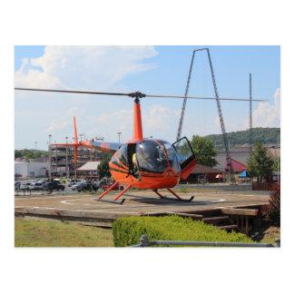Viajes del helicóptero de Branson Tarjetas Postales