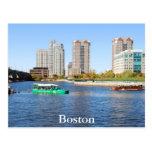 Viajes del pato de Boston Postales