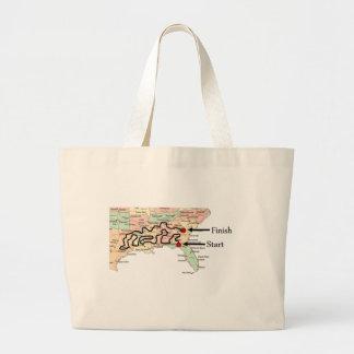Viajes pesados del recorrido bolsas