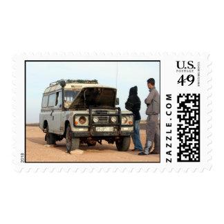 Viajes por carretera sellos