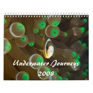 Viajes subacuáticos 2008 calendarios