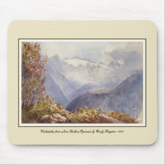 Vialadetta from above Luchon,Pyrenees Mouse Pad