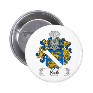 Viale Family Crest Pin