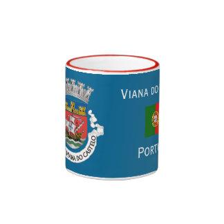 Viana do Castelo Portugal Crest Mug