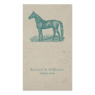 Viantage Horse Business Card