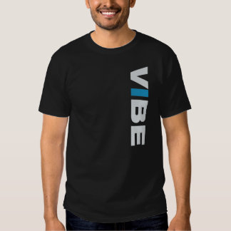 VIBE (black) Tee - front+back