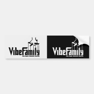 Vibe Family Decal Car Bumper Sticker