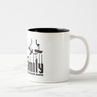 Vibe Family Two-Tone Coffee Mug