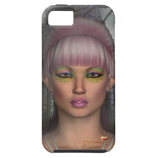 Vibe iPhone5 Case covering cover Fantasy elf
