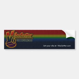 VibeSetter Recordings - Bumper Sticker