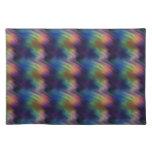 Vibraciones coloridas mantel individual