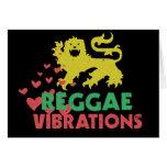 Vibraciones del reggae felicitación