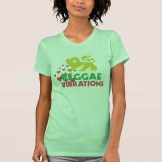 Vibraciones del reggae camisetas