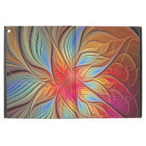 "Vibrant Abstract Floral Pattern iPad Pro 12.9"" Case"