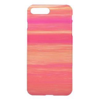 Vibrant Abstract Sunset Paint Strokes Pattern iPhone 8 Plus/7 Plus Case