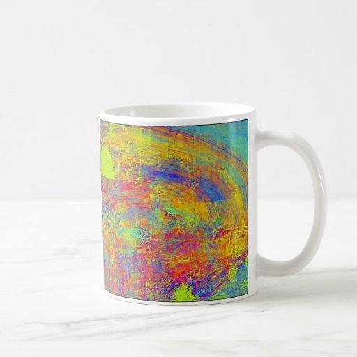 Vibrant Abstract Swirl Mug