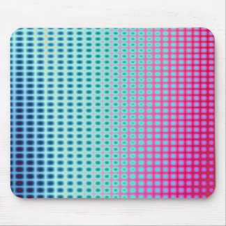 Vibrant Abstract Tiles Mouse Pad