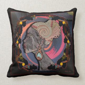 Vibrant Africa Throw Pillow