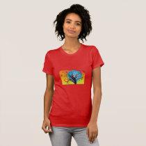 Vibrant Autumn Tree T-Shirt