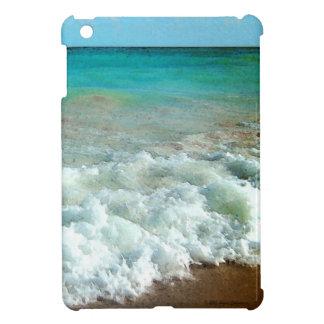 Vibrant Beach Watercolor Scene iPad Mini Cases