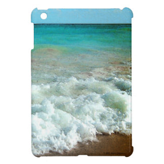 Vibrant Beach Watercolor Scene iPad Mini Cases