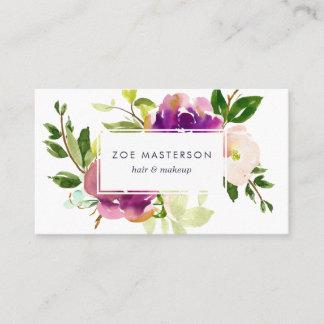 Vibrant Bloom   Modern Floral Business Card
