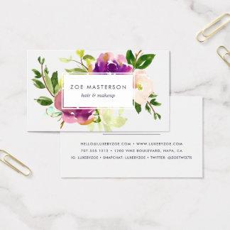Vibrant Bloom | Modern Floral Business Card