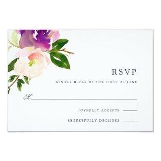 Vibrant Bloom RSVP Cards