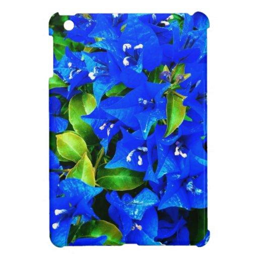 Vibrant Blue Bougainvillea Flowers iPad Mini Case | Zazzle