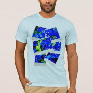 Vibrant Blue Bougainvillea Flowers T-Shirt