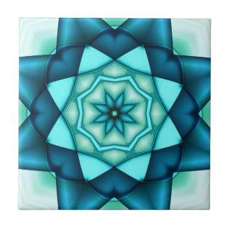 Vibrant Blue Turquoise Ceramic Tile