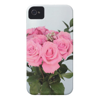 Vibrant Bouquet of Beautiful Pink Roses Case-Mate iPhone 4 Case