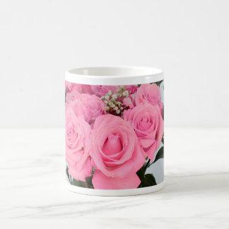 Vibrant Bouquet of Beautiful Pink Roses Coffee Mug
