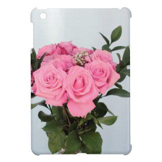 Vibrant Bouquet of Beautiful Pink Roses iPad Mini Cases