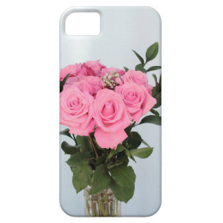 Vibrant Bouquet of Beautiful Pink Roses iPhone SE/5/5s Case